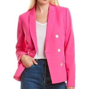 J. Crew Collection Marcey Blazer Pink 8